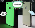 Glow in the dark Fluorescent Green Protector Skin Sticker for iPhone 5 5S 4S 4