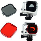 Durable Snap-on Underwater Sea Diving Lens Color Filter For GoPro Hero 3 Camera