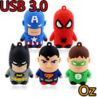 Superheros USB 3.0 Stick, Quality Batman Superman USB Flash Drives WeirdLand
