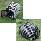 Folding Pet Dog Cat Travel Crate Carrier Collapsible Tote Handbag Shoulder Bag