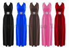 Plus Size Ladies Long BRIDESMAID Evening Buckle Maxi Cocktail Prom Party Dress
