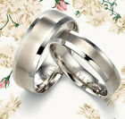 His Her Silver Wedding Rings MK094USA1