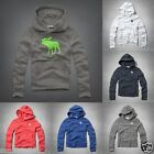 new ABERCROMBIE KIDS BOYS HOODIE size S M L XL NWT RED GRAY blue back to school