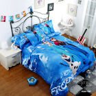 Frozen Sisters Single/Double Size Quilt/Duvet/Doona Cover Set New Cotton Linen