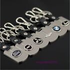 Seven kinds of double-sided stainless steel zinc alloy car logo keychain key cha