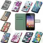 leather case phone cover wallet For HUAWEI ASCEND P7