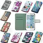 leather case mobile phone cover wallet card For Alcatel One Touch Pop C3 OT 4033