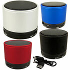Bluetooth Wireless Mini Portable Rechargeable Speakers With FM Radio MP3 Player
