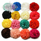 6cm Pastel Tone Pompom Flower Hair Clips or Bobbles. Bridesmaid Wedding Bridal