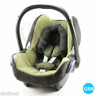 Replacement spare Seat Cover fit Maxi Cosi CabrioFix 0+ Infant Carrier SET green