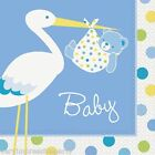 BABY SHOWER PARTY - BLUE NAPKINS
