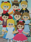 DISNEY CHARACTER CARD TOPPER WOODY ALICE ALADDIN MINNIE TINKERBELL PETER PAN