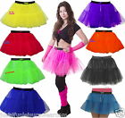 NEON TUTU SKIRT PETTICOAT 80'S FANCY DRESS HEN PARTY