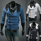 Mens Assassins Creed Jacket Size SMLXLXXL Desmond Cosplay Costume Hoody Coat HOT