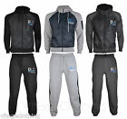 Mens Zip Hoody Jog Bottom Pants Gym Running Casual Sports Fitness Tracksuit DLX