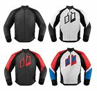 Icon Hypersport Leather Motorcycle Riding Jacket Attack Fit ALL SIZES