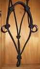 HORSE ROPE HALTER PRO/WITH  SIDE PULL RINGS,COWBOY,TRAINING YOU SELECT YOUR SIZE