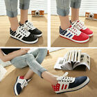 womens fashion shoes stars flag flats sneakers running walking lace ups colors H