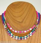 Surfer SUP Necklace Puka Shell Coconut Bead Adjustable to 18 inches 6588