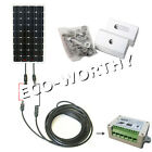 100W 160W PV Solar panel & accessories for option 12V off grid RV boat charger