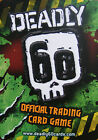 x9 Deadly 60 Trading cards Series 1 and Series 2