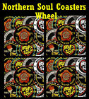 NORTHERN SOUL (TWISTED WHEEL) - SET OF COASTERS - GIFT/ BIRTHDAY / XMAS