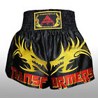 Muay Thai Boxing MMA Soft Satin Pants Shorts Competition Exercise Gym Trunks New