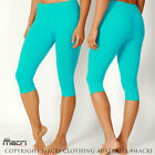 Women's Premium Quality Workout 3/4 Tights GYM Yoga HIGH Waisted Lycra Leggings