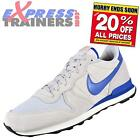 Nike Mens Internationalist Suede Leather Retro Running Trainers Grey *AUTHENTIC*