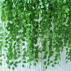 6.56ft 2m Artificial Green Ivy Leaf Garland Plants Vine Foliage Flowers Decor