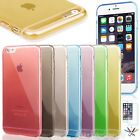 "0.3mm Ultra Thin Semi Transparent Clear Soft Gel Case for 4.7"" iPhone 6 / 6S #48"