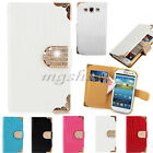 Luxury Crocodile Diamond Wallet Leather Case Cover For Samsung Galaxy S3 i9300