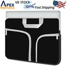 "Canvas Laptop Sleeve Bag Case Pouch for 10""11"" 13"" 14'' 15"" Netbook HP Dell Sony"