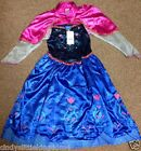 New F&F Disney Frozen Anna girls dressing up costume fancy dress outfit