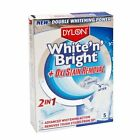 DYLON White'n'Bright Whitener & Oxi Stain Removal 5 Sachets per Pack 3071