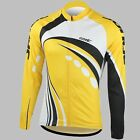 Men's Cycling Outdoor Jacket Sport Bike Bicycle Long Sleeve Jersey XL-XXXL
