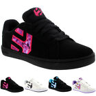 Womens Etnies Fader LS Leather Lace Up Low Top Casual Skate Shoes Trainer UK 3-8