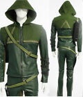 New Green Arrow Oliver Queen Cosplay Costume Halloween Clothing  Accessories