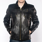 Mens Schott LC Boston Black Leather Jacket