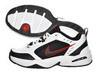 Nike Men's Air Monarch IV White Black Red Cross-Trainers All Size 415445-101