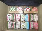 Flower Strip Dot Pattern Baking Cups Muffin Cases Paper Cupcake Liners