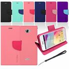 Colorful Wallet Magnetic Flip Fit Leather Case Cover for BLU A270 Advance 4.0