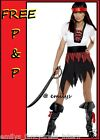 LADIES PIRATE BUCCANEER CARRIBEAN FANCY DRESS COSTUME!