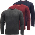 Mens Toyko Laundry Cable Knit Jumper New