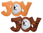 Great Pyrenees Dog Joy Leash Holder. In Home Wall Decor Wood Products, Pet Gifts