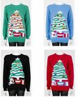 Unisex Christmas Christmas Tree Jingle Bell Novelty Xmas Jumper Sweater