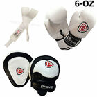 KIDS BOXING GLOVES PUNCH BAG JUNIOR MITTS & FOCUS PADS HAND WRAP TRAINING SET 2