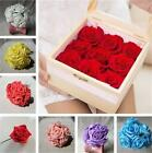50pcs Foam Rose Artificial Flower Wedding Bride Bouquet Party Decor Craft Chic-Z