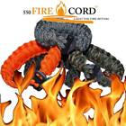 550 PARACORD - FIRECORD SURVIVAL BRACELET - 550 Paracord with LiveFire inside!