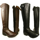 ADULTS HORSE RIDING EQUI LEATHER YARD SHOWING JODHPUR LONG TALL BOOTS SIZE 3-10